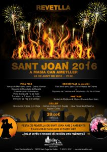 Sant Joan 2016 a Masia Can Ametller